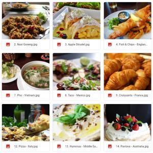 Eat your way around the World